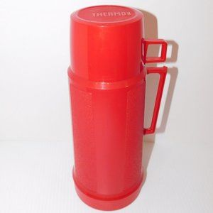 Vintage Red Super Quart Thermos Lid & Cup Lid @